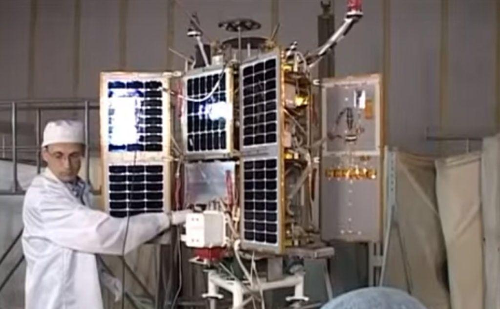 satélite ruso  RS-85