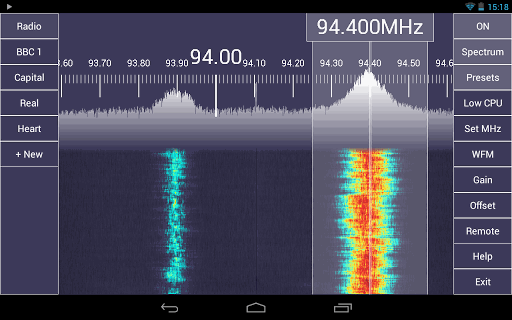 SDR TOUCH ANDROID
