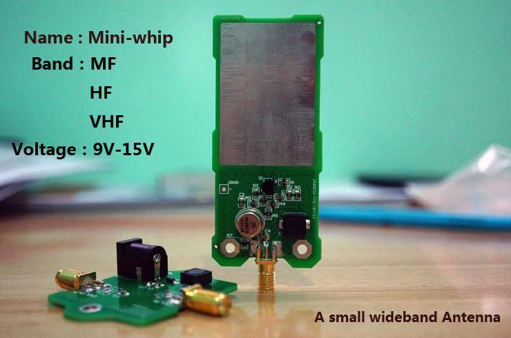 Antena mini whip